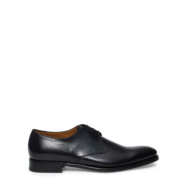 Ralph Lauren Dalvin Calfskin Oxford Black 9