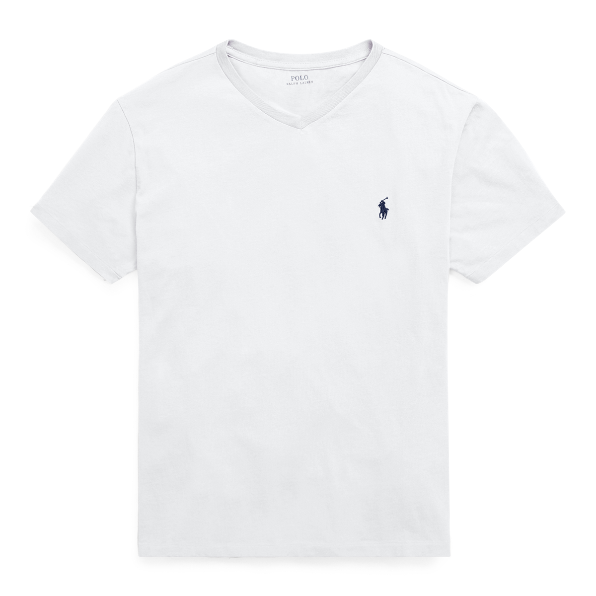8bff0719 Men's Cotton Jersey Polo V-Neck T-Shirt | Ralph Lauren