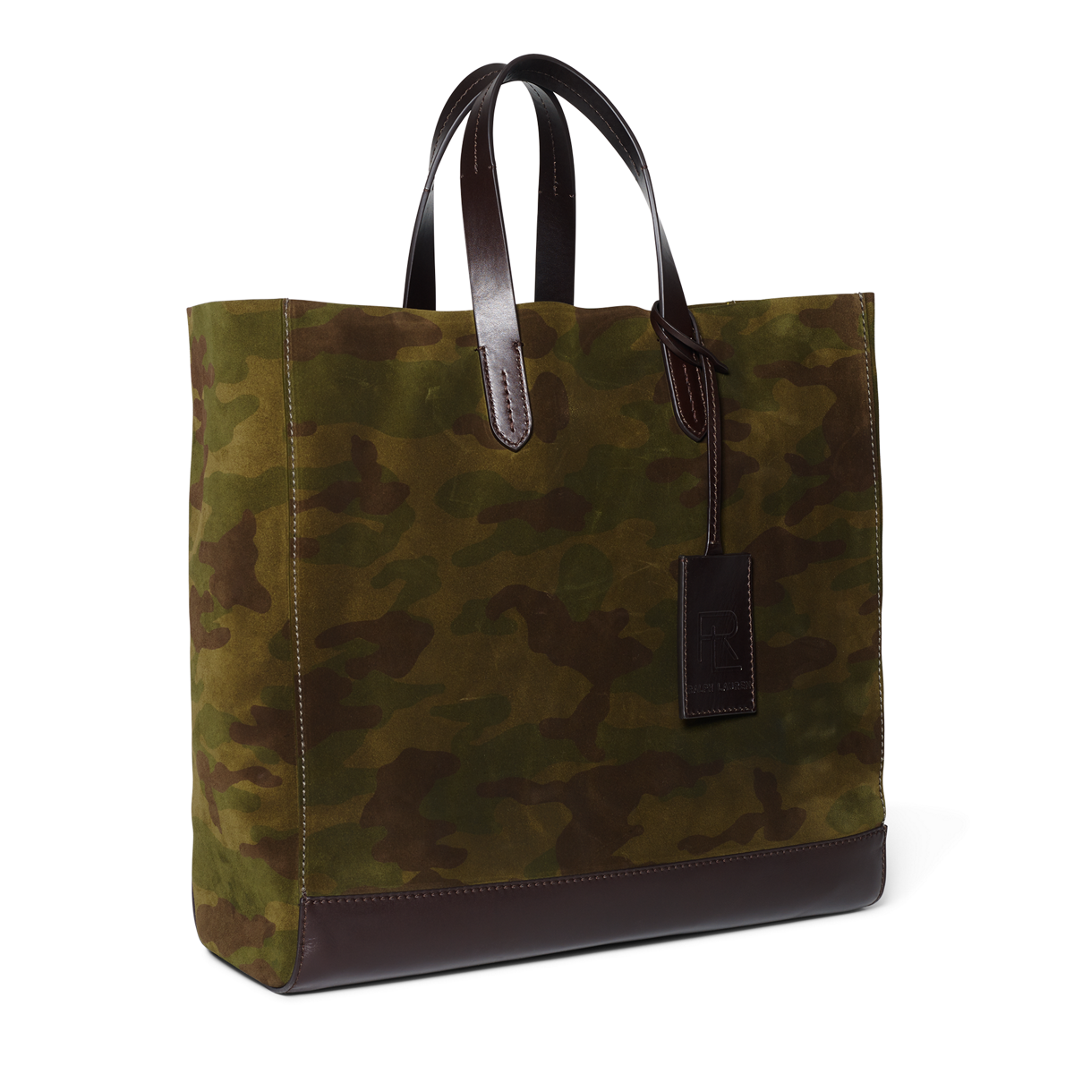 3ac48e15c0 Camouflage Suede Tote