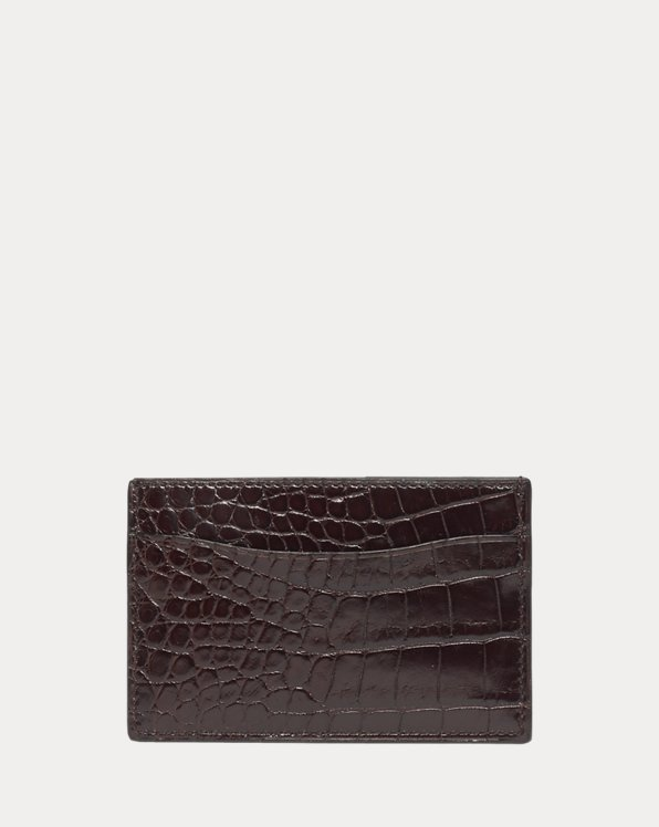 Alligator Card Case