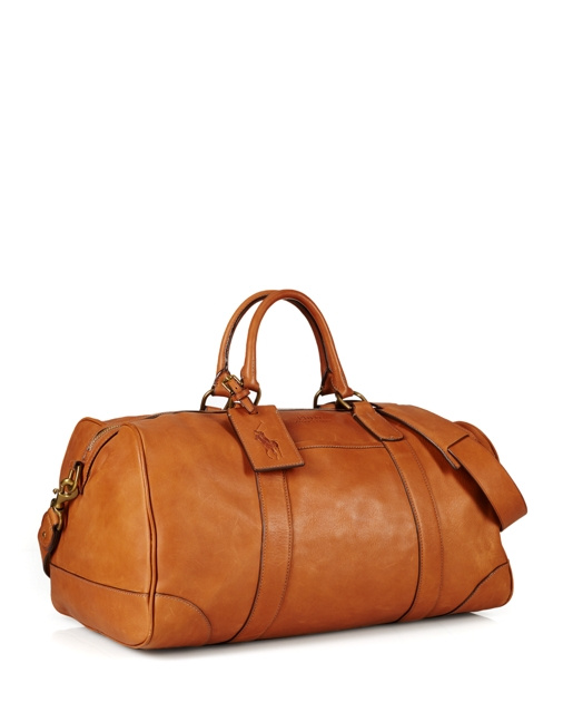 d8d8c9669999 Polo Ralph Lauren Leather Duffel Bag 2