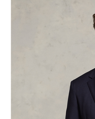 Polo Wool Twill Sport Coat