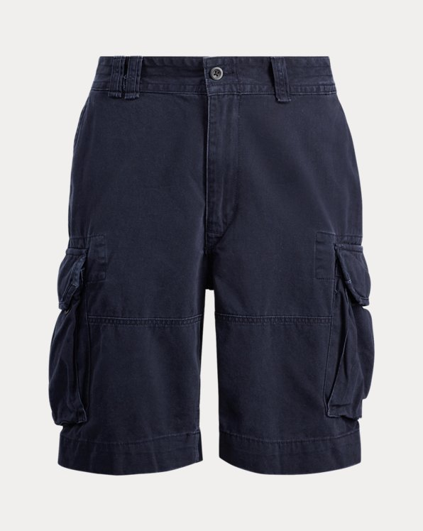 Classic-Fit Chino-Cargo-Shorts