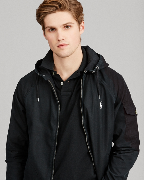 151bc0c98887 Cotton-Blend Windbreaker