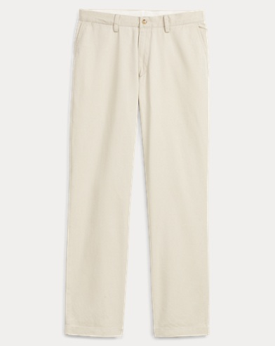 Relaxed Fit Cotton Chino