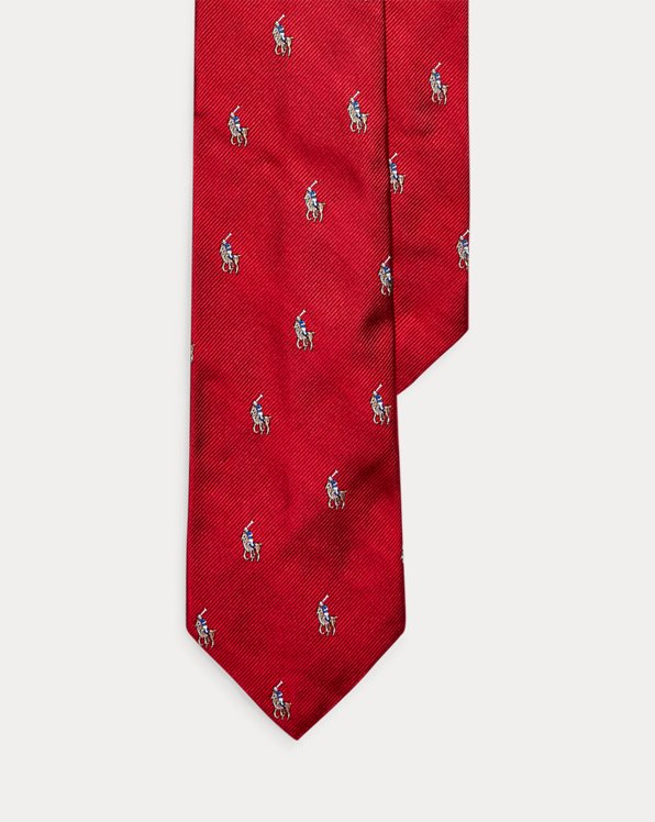 Polo Pony Silk Narrow Tie