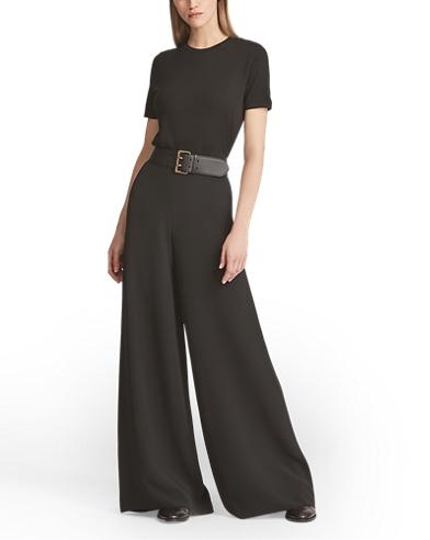 Charmain Silk Wide-Leg Pant