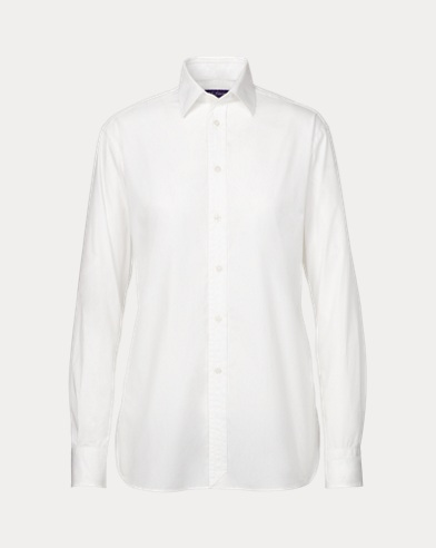 Adrien Cotton Broadcloth Shirt