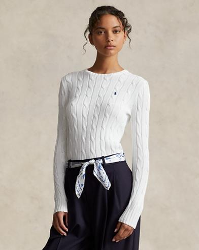 Jersey de algodón de punto trenzado