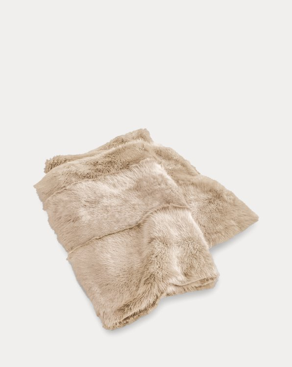Brighton Shearling Throw