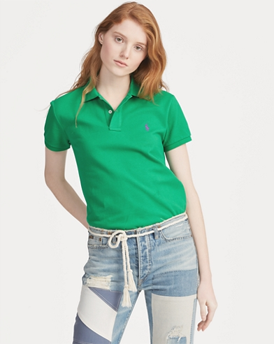 Women s Polo Shirts - Long   Short Sleeve Polos  14110fef76