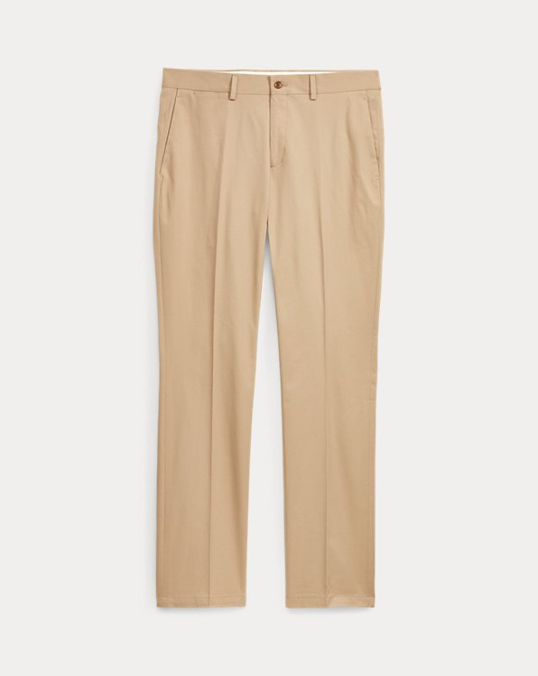 Straight-Fit Washed-Stretchchino