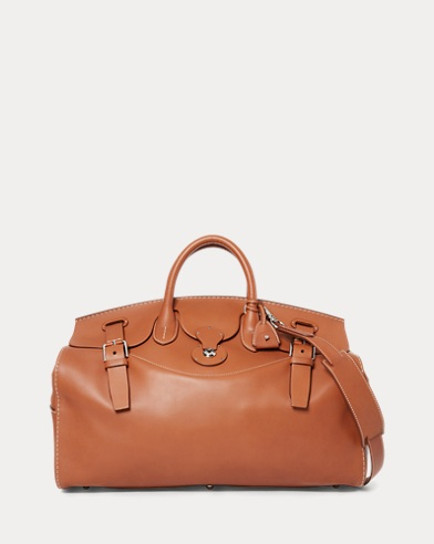 Saddle Calfskin Cooper 50 Bag