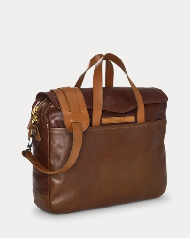 Leather A-2 Briefcase