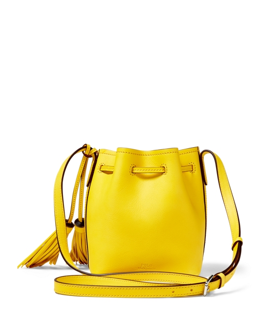 Polo Ralph Lauren Mini Leather Bucket Bag 2 f7442f94bb268