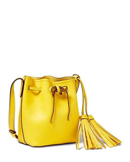 Polo Ralph Lauren Mini Leather Bucket Bag 4 56ab65bae75e4