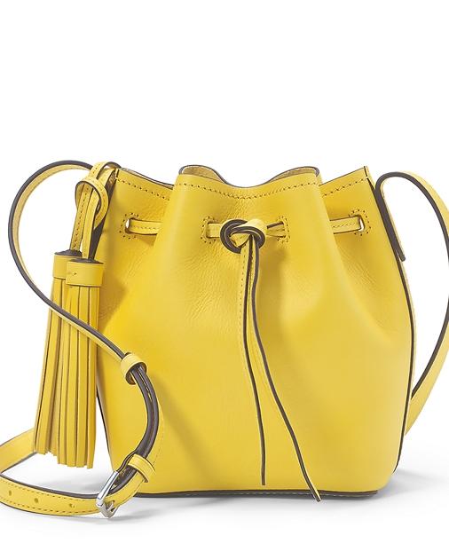 Polo Ralph Lauren Mini Leather Bucket Bag 1 abe582551ccbf