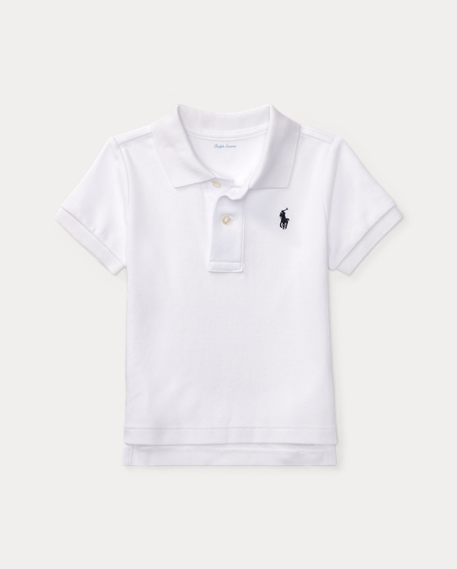 a1b3fa1ad80c Baby Boy Cotton Interlock Polo Shirt 1