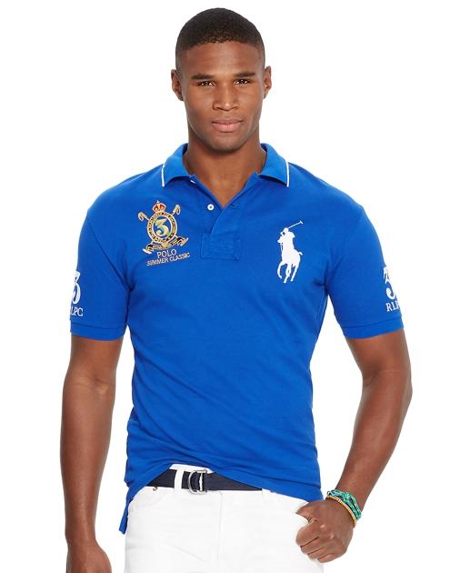 a3c00758652 Polo Ralph Lauren Classic Fit Mesh Polo Shirt 1
