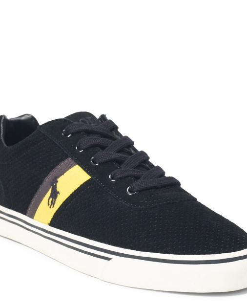 274500601ac Polo Ralph Lauren Hanford Perforated Sneaker 1