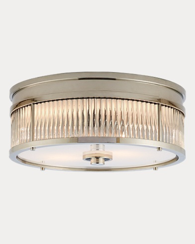 Allen Round Flush-Mount Light
