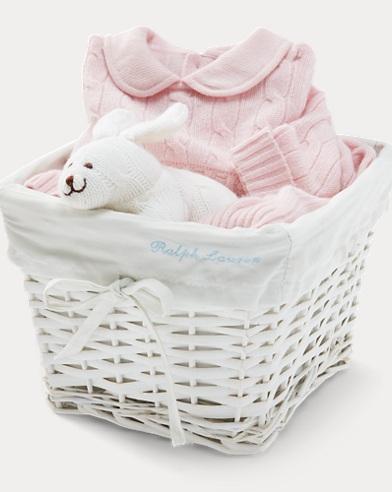 Cashmere Gift Basket