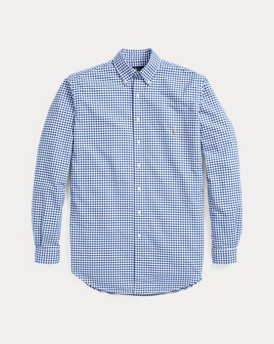 Gingham Cotton Oxford Shirt