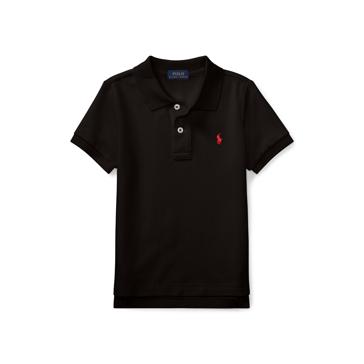 f4978c932a061 Cotton Mesh Polo Shirt