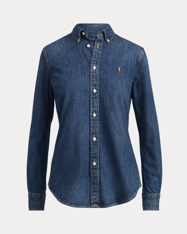 Custom-Fit Denim Shirt