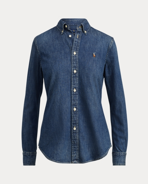 4c7255e8a1 Polo Ralph Lauren Custom Fit Denim Shirt 2
