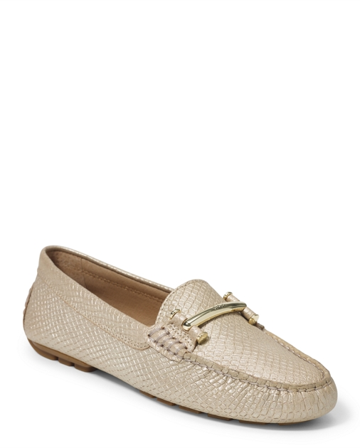 5f94d96885c Lauren Caliana Embossed Loafer 1