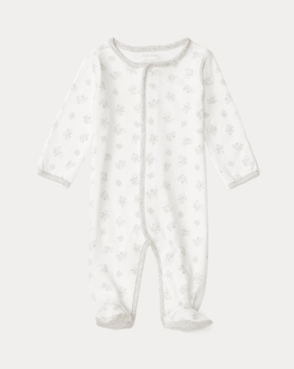 Playtime-Print Cotton Footed Coverall