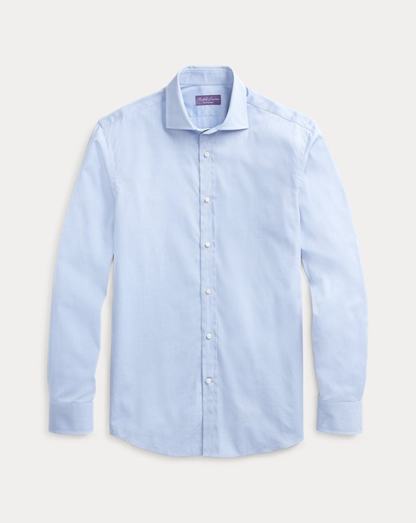 Chemise ajustée fil-à-fil