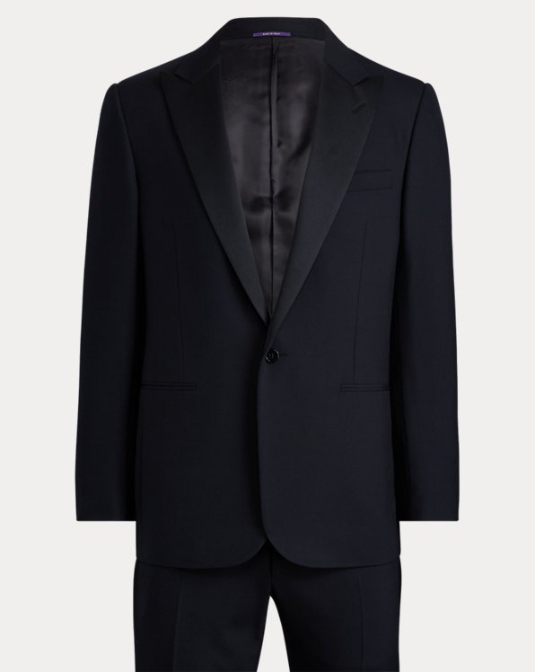 Navy Peak-Lapel Tuxedo