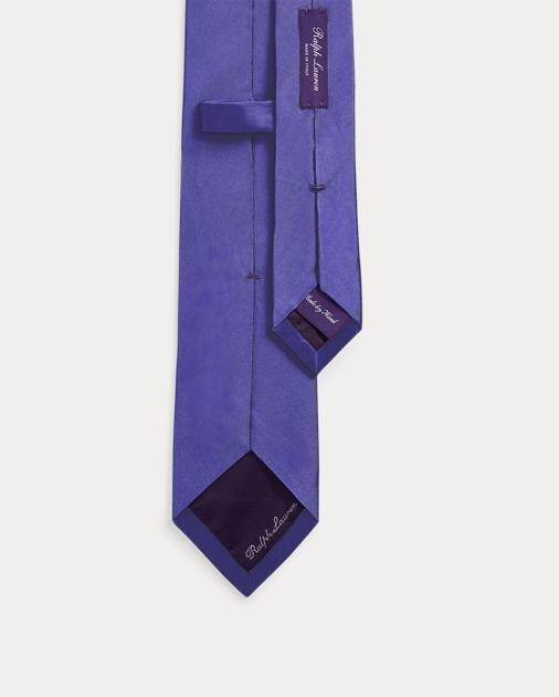 Purple Label Krawatte aus Peau de soie 2