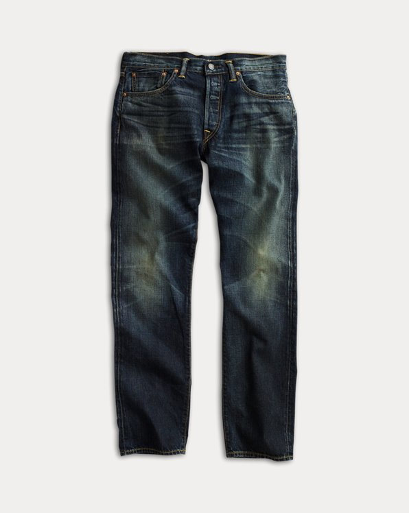 Low Straight Selvedge Jeans
