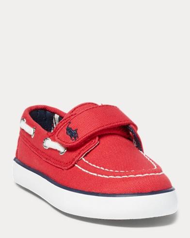 Sander Canvas EZ Boat Shoe