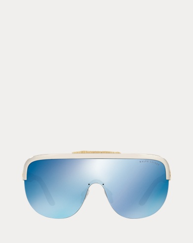 Woven Shield Sunglasses