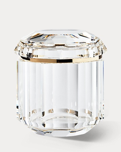 Leigh Clear Crystal Jar