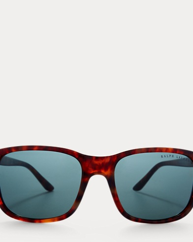 RL Hinge Square Sunglasses