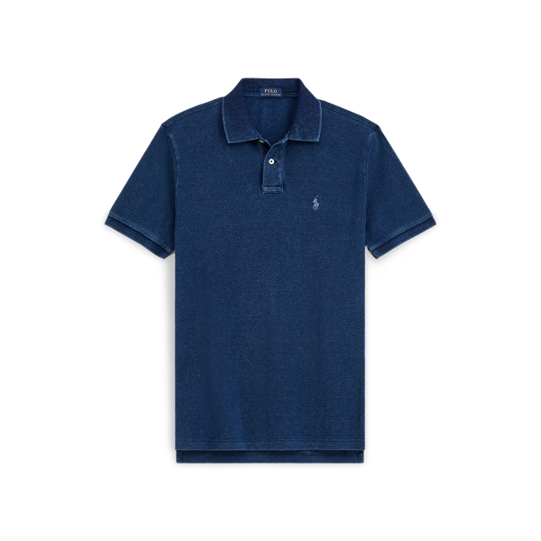 폴로 랄프로렌 Polo Ralph Lauren Classic Fit Mesh Polo Shirt,Dark Indigo