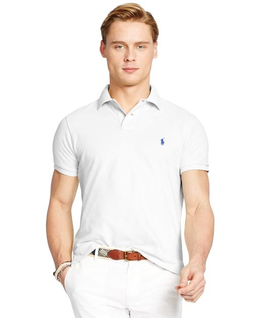 d7bbb0fd5 Polo Ralph Lauren Custom Slim Fit Mesh Polo 1