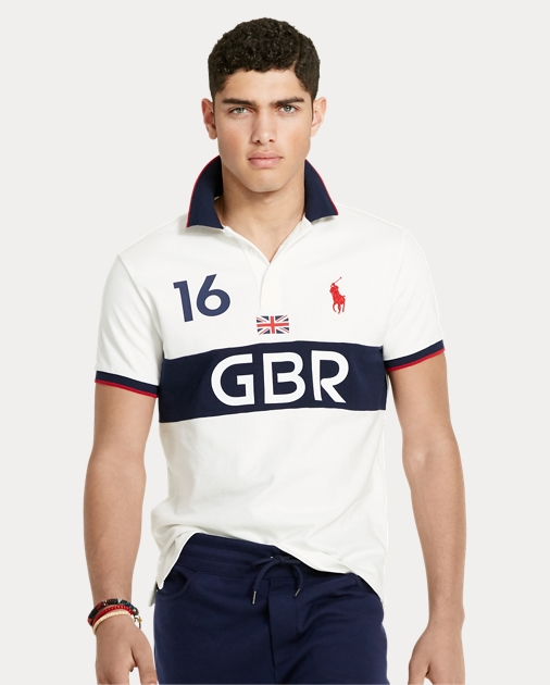 cb0e0bfbb Save to your Wishlist. Polo Ralph Lauren Custom Fit Great Britain Polo 1