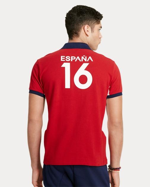 bb2384f828ee Custom Fit España Polo Shirt