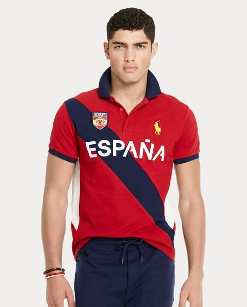 56da7a266 Polo Ralph Lauren Custom Fit España Polo Shirt 1