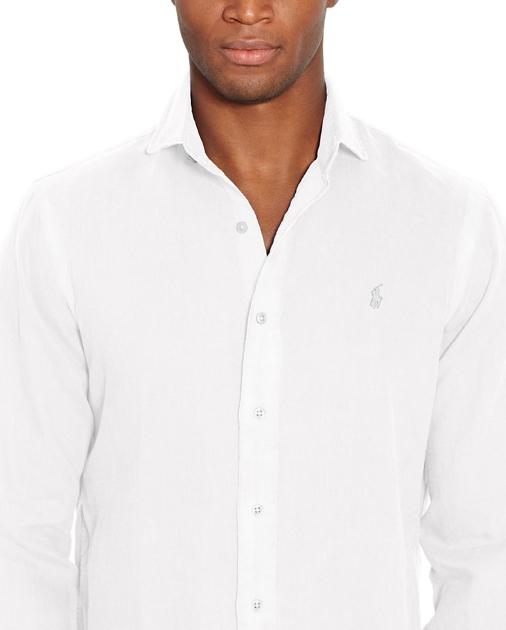 01b46a8b95fff9 Polo Ralph Lauren Slim Fit Linen Shirt 3