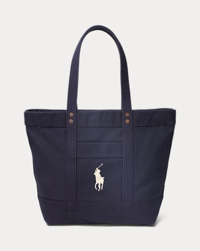 Canvas Big Pony Tote