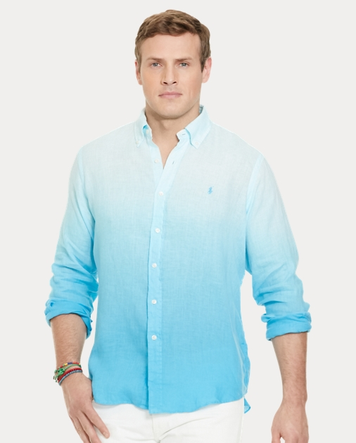 Classic Ombré Shirt Linen Classic Ombré Fit Classic Linen Fit Ombré Fit Shirt xdCeBro