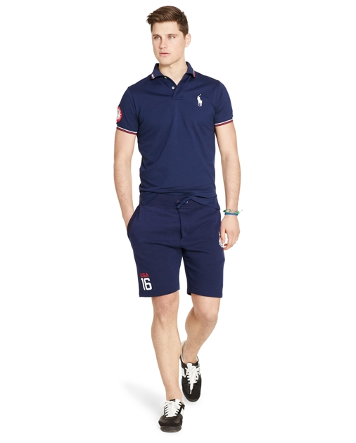 navy polo shoes ralph lauren olympic gear