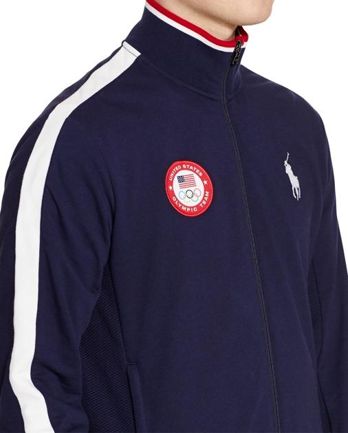 new concept de220 9e7bc Team USA Track Jacket